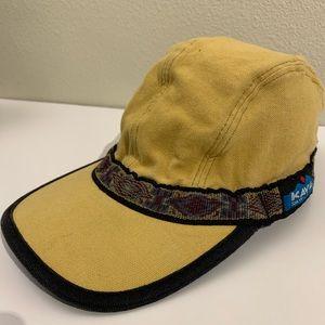 Kavu Yellow Strapcap Hat | Small | Aztec Print